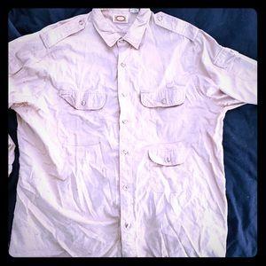 Vintage 80's Banana Republic safari shirt exc cond
